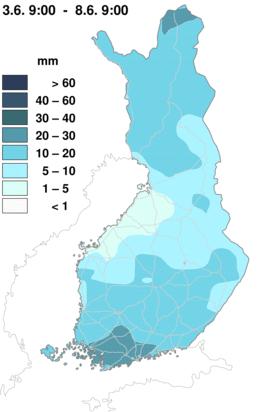 Погода в Финляндии