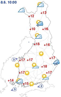 Vädret nu