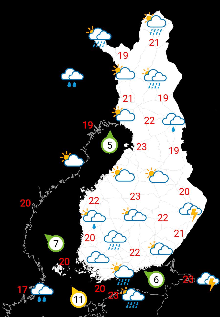 Sää huomenna