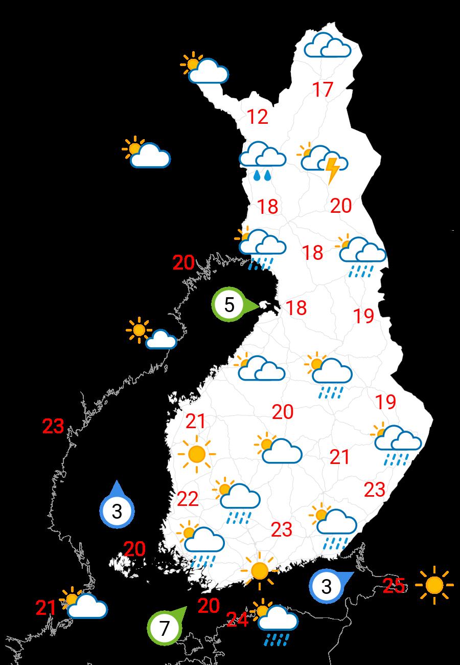 Vädret i övermorgon