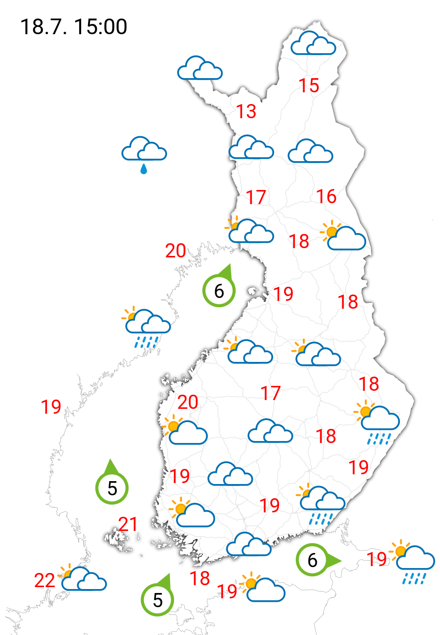 Sää ylihuomenna